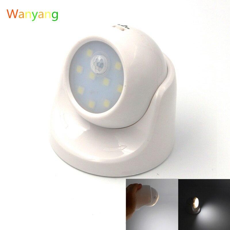 Compra 360 grados de movimiento sensor de luz online al - Luz sensor movimiento ...