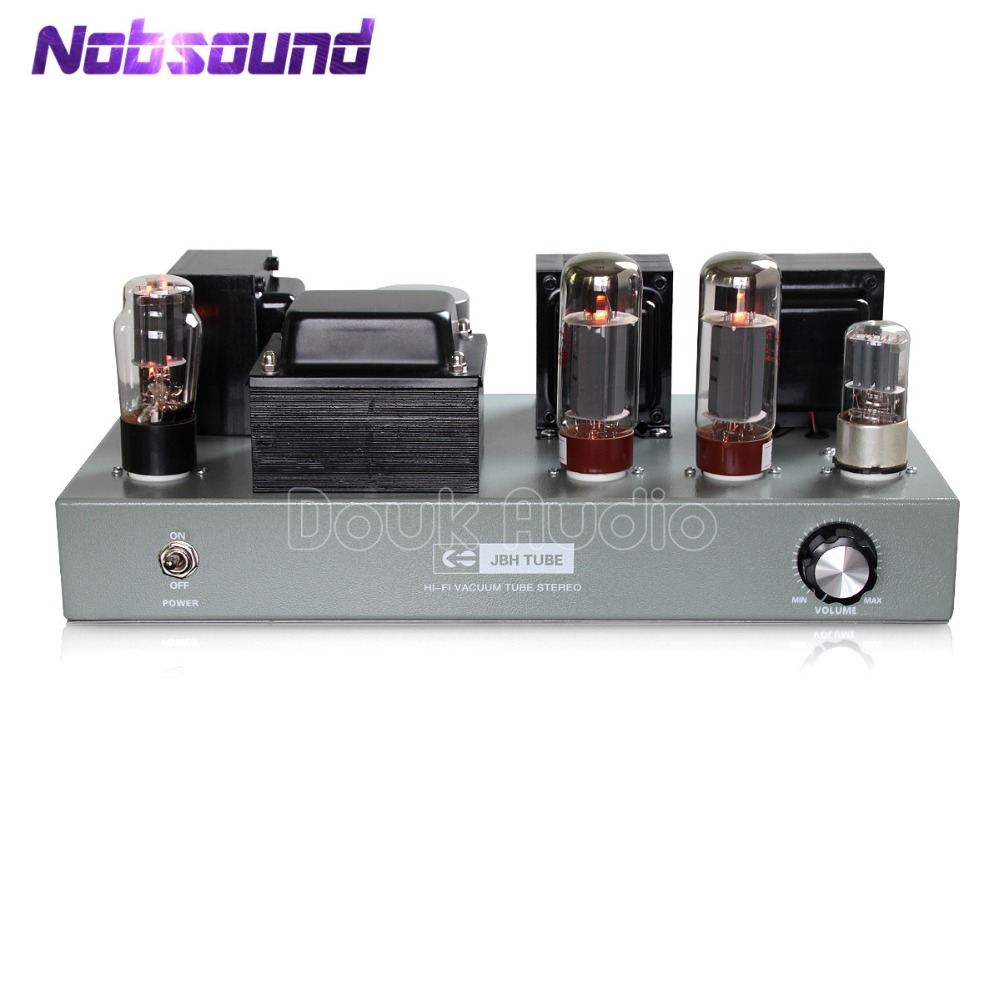 2018 Nobsound HiFi EL34 Vacuum Tube Amplifier Class A Single-ended Stereo Power Amplifier 110V/240V