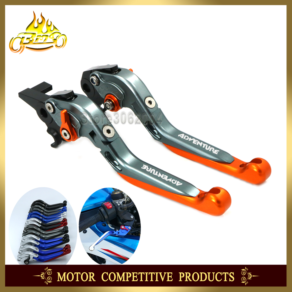 Folding Extendable Adjustable Motorcycle Brakes Clutch Levers For KTM 950 990 640 adventure 950adventure 990adventure s