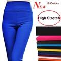 {Guoran} plus size 5XL 6XL women stretch cotton leggings candy color female skinny pants pencil pants high waist ladies casual