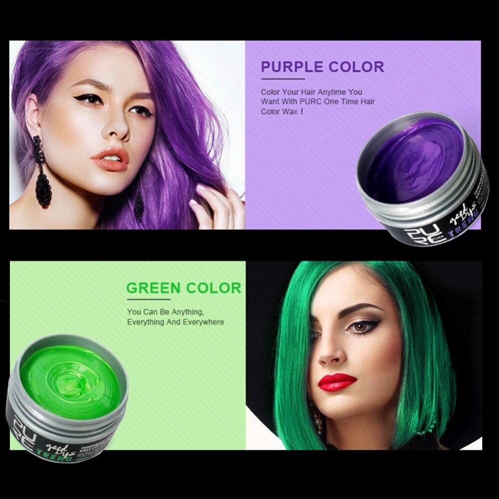 Color Hair Dye Disposable Hair Wax Fashion Hair Dyeing Material