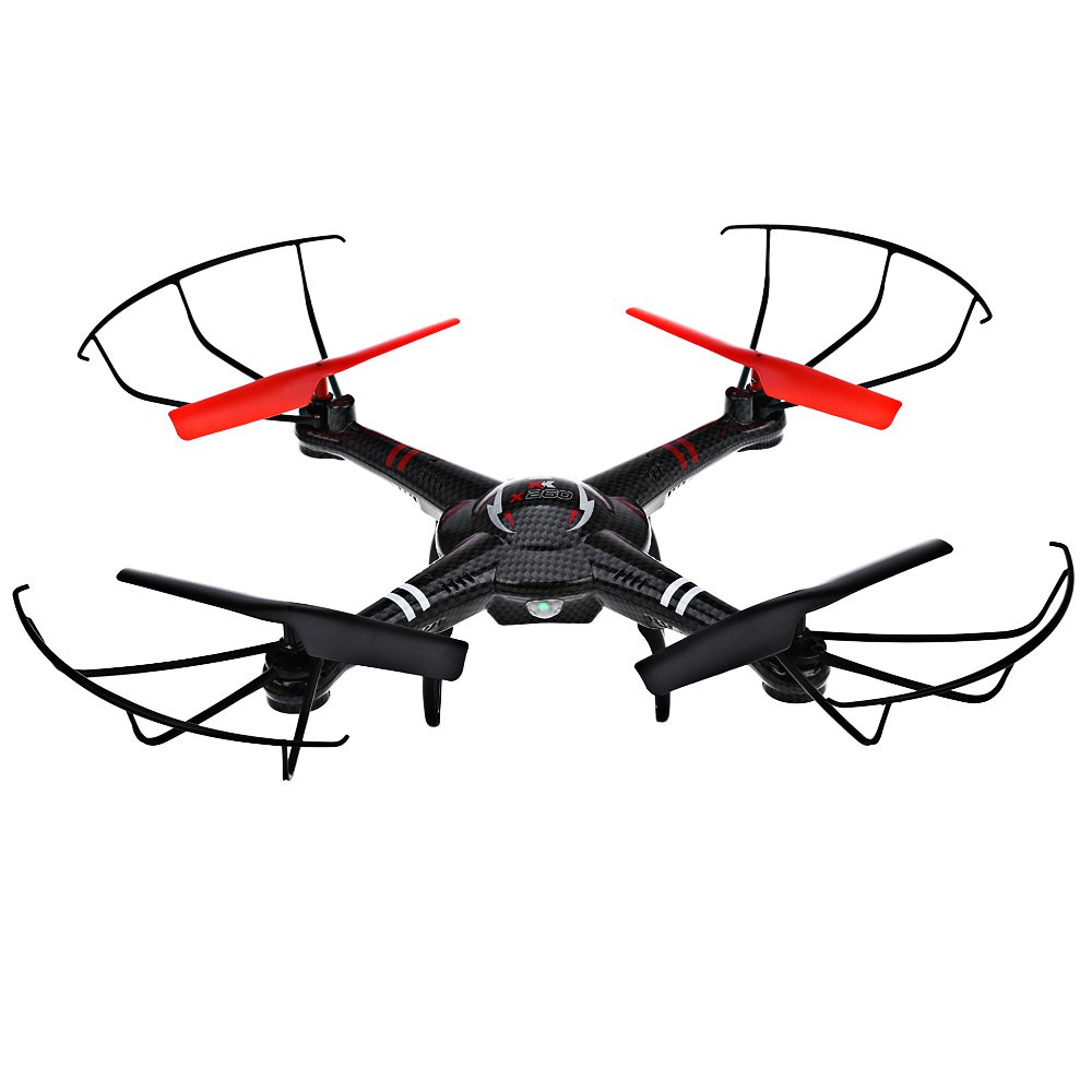 XK X260A RC Quadcopter RTF 720P Wide-angle HD Camera FPV Video Transmission 6-Axis Gyro with Brushless Motor Drone Toy