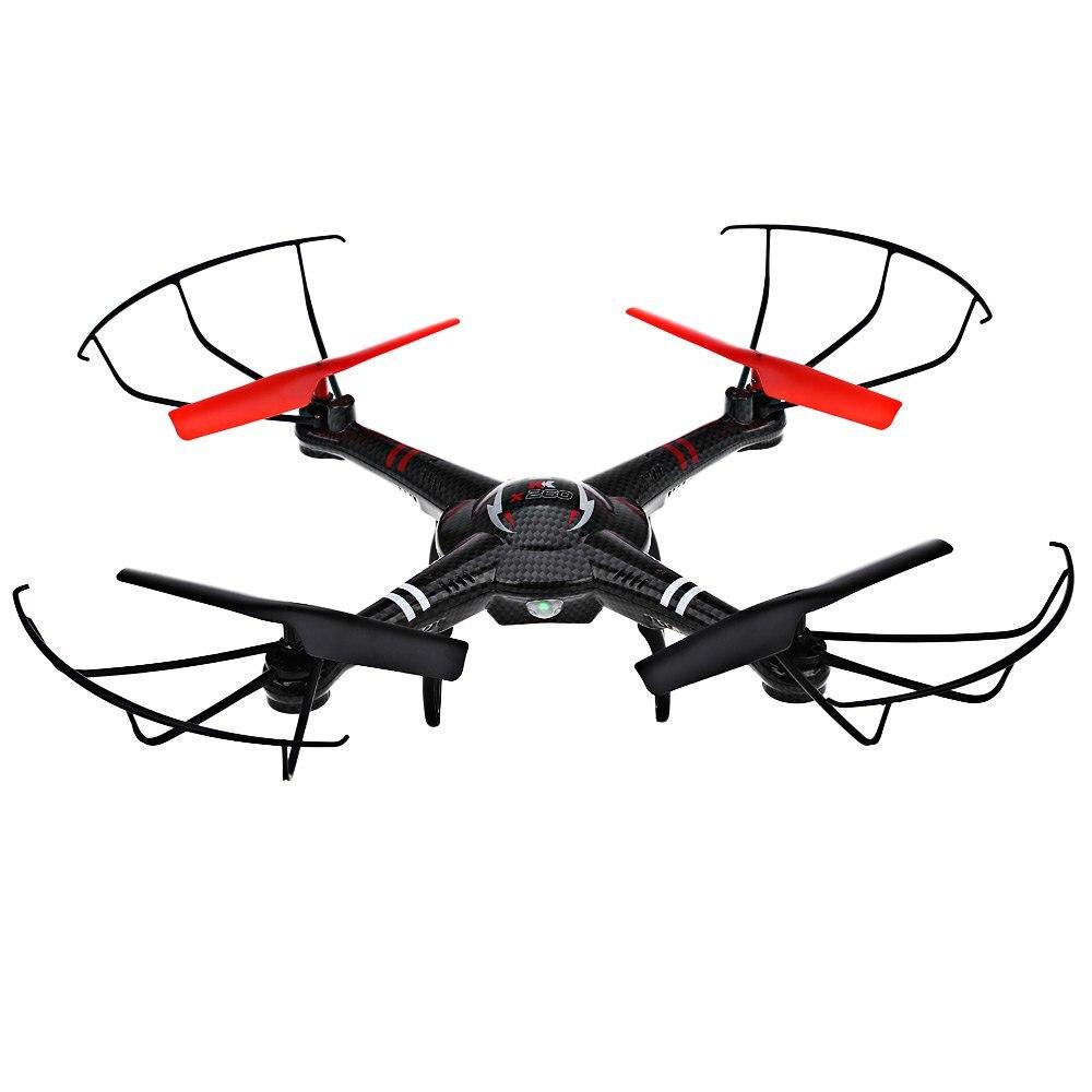 Xk x260a rc quadcopter rtf 720 p gran angular hd cámara de video fpv transmisión