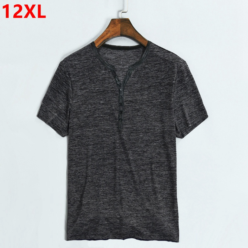 Extra Large Male Summer Extra Large size Fat T-shirt 8XL Bamboo Cotton Tip 6 Short Sleeve T-Shirt 10XL 11XL 12XL 9XL женский закрытый купальник yqe 4xl 5xl 6xl 7xl 8xl 9xl 10xl 11xl 12xl 2376