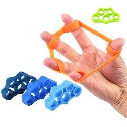 Bandas de resistencia a los dedos bandas de goma entrenamiento estiramiento ejercicio banda elástica goma cuerda pecho desarrollador equipo de Fitness