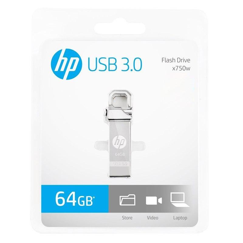HP USB Flash Drive 64 GB Metal Pendrive 32 GB Plus OTG DJ DIY LOGO - Արտաքին պահեստավորման սարքեր - Լուսանկար 6