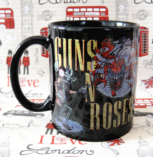 Guns N 'Roses classic rock Tide brand personality cups mug cup limited edition commemorative gift ideas trend