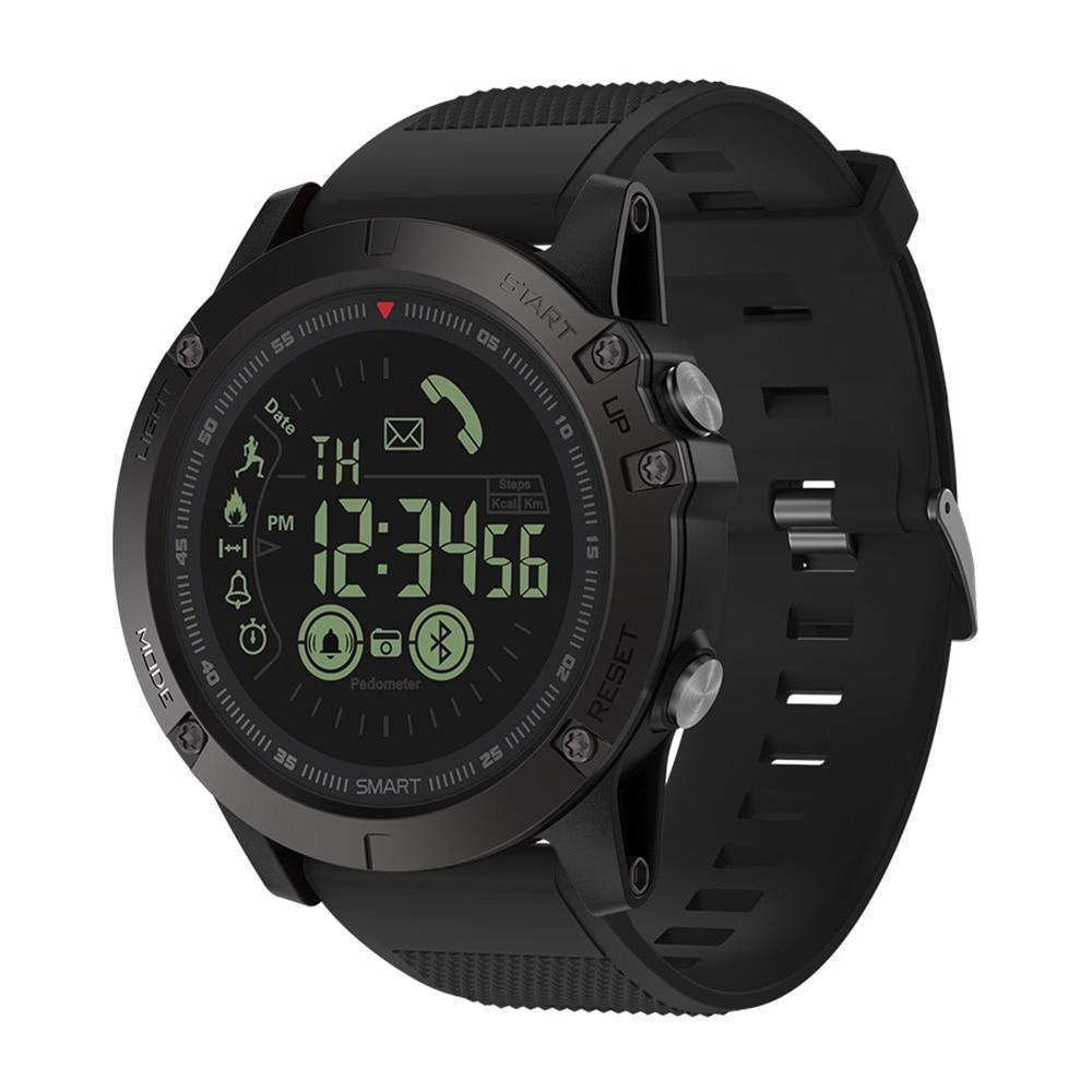 Zeblaze VIBE 3 reloj inteligente luminosa compartir Social Fitness Tracker reloj pulsera de contador de paso de tiempo de espera de 990 días 610 Mah