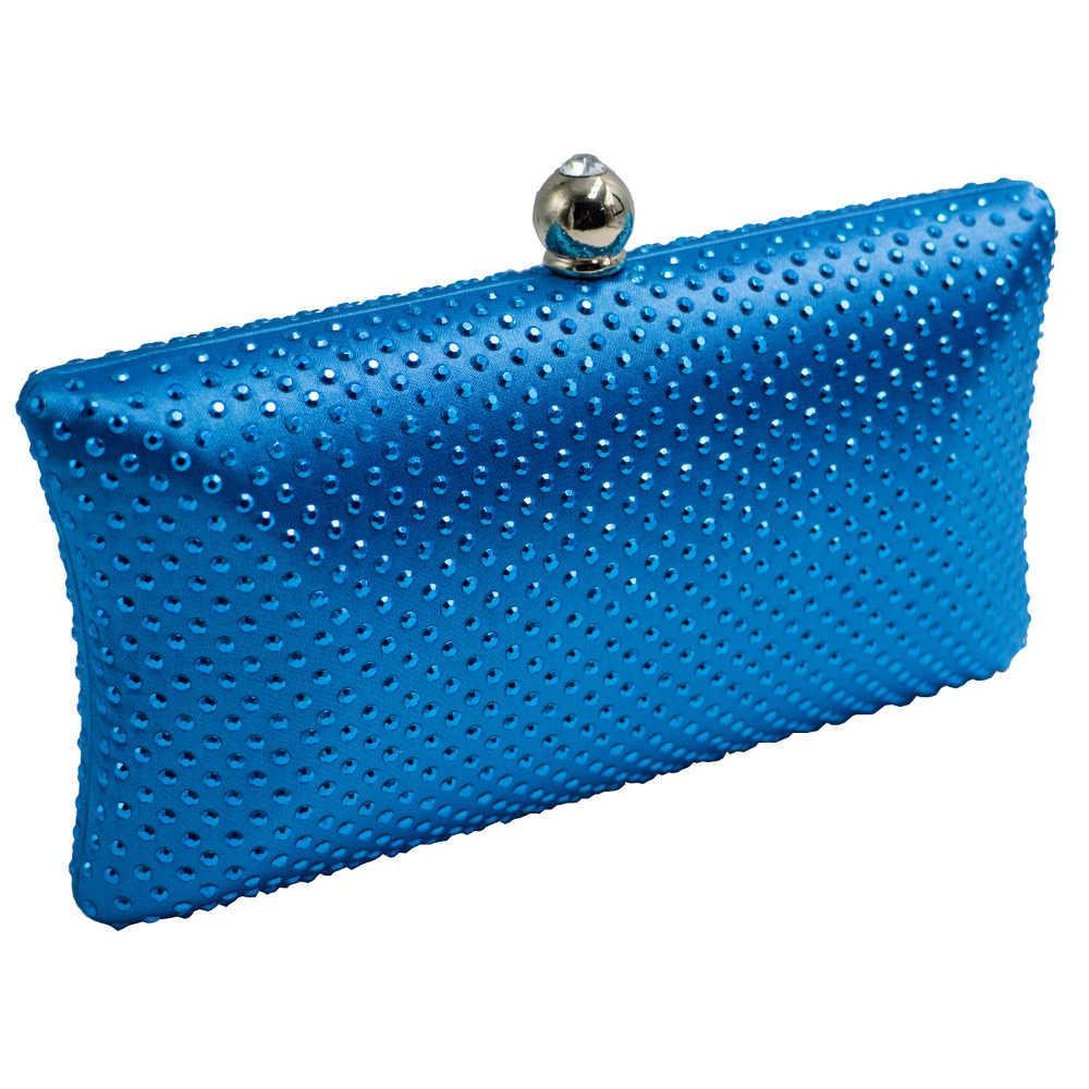 Горный хрусталь кристалл жесткая коробка Свадебная вечерняя сумка бисером вечерняя сумочка клатч и кошелек зеленый/красный/темно-синий/розовый/золотой/серый/черный/фиолетовый