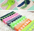 new fashion dot Scarf Sarongs Hijabs Bandanas wrap shawl poncho for adult or kid 180*80cm mixed color 12pcs/lot #3367