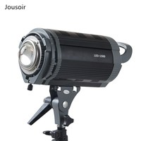 Flash light 150W LED Dimming 3200K/5600K Lighting Speedlite Strobe Lamp For photography Studio Camera CD50