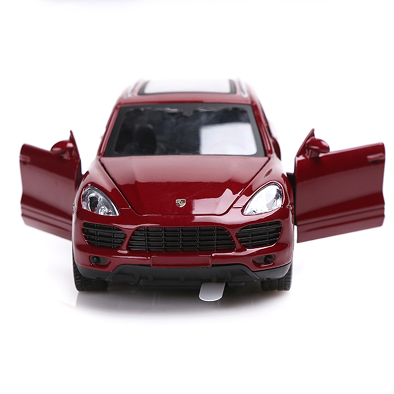 Mz 1 32 Simulation Porsche Cayenne Suv 3 Colors Cast Metal Alloy Car Model Children S Toys Ornaments Sound And Light In Casts Toy Vehicles From