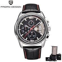 Men Quartz Watches PAGANI DESIGN Luxury Brands Fashion Military Leather relogio masculino Zegarek Meski