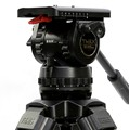 TRIX TS150 Professional  Video Camcorder Tripod Head Fluid Head Load 15KG for Camcorder Film camera