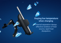 AUDEW Pre Sale Car Charging Stand Mount Qi Wireless Dashboard Air Vent Mobile Phone Charger Holder for Iphone X 2018