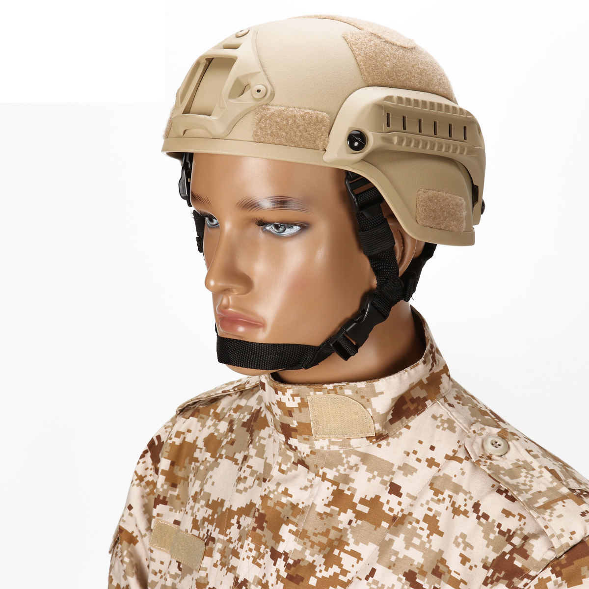 Outdoor Cycling Gear Airsoft Tactical War Game Mich 2000 ABS Helmet Military Action Type Combat Helmets Paintball Head Protector