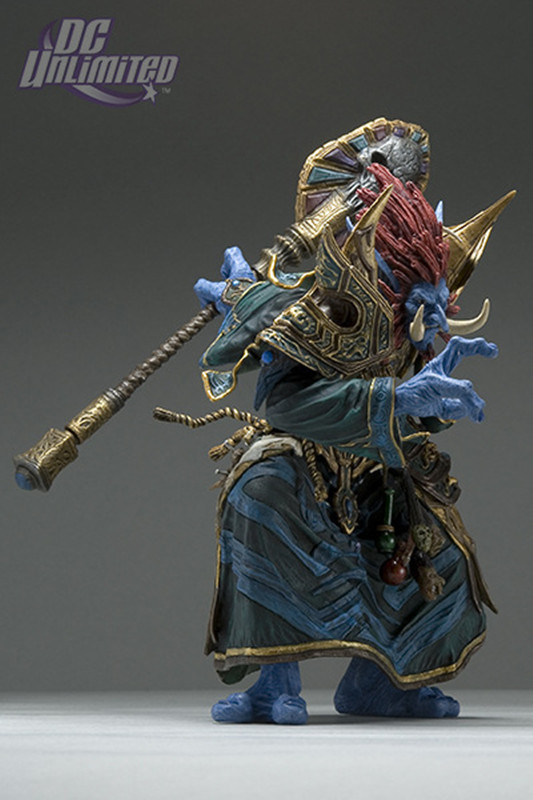 16cm WOW Troll Priest: Zabra Hexx Action Figure Free shipping GS011 1