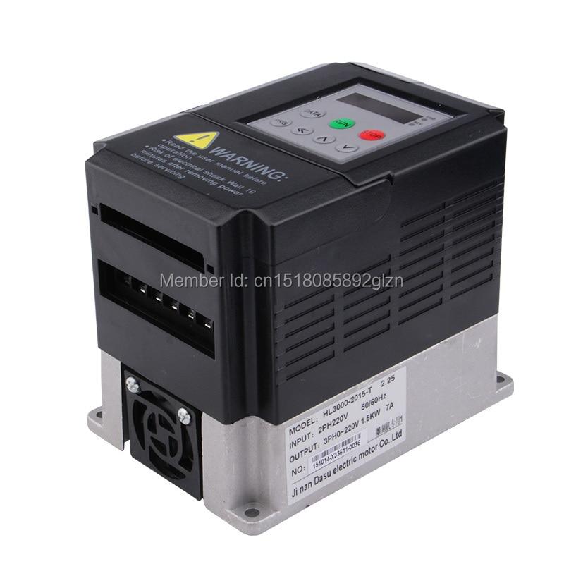 RITUO 1.5KW VFD convertidor de frecuencia de 220v 1.5kw VFD Variador - Piezas para maquinas de carpinteria - foto 2