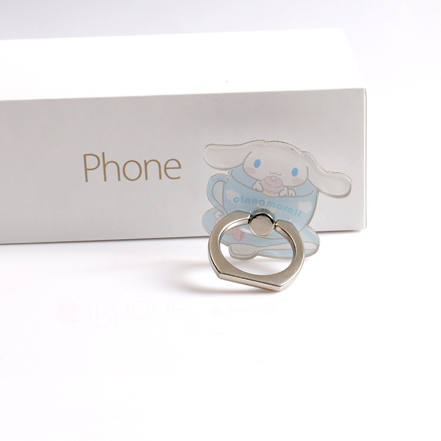 Girls Finger Ring Smartphone Holder 5