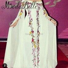 Stickerei Abendkleider Aus Dubai Abend Kleid Long Sleeves Brautkleider Hochzeit Vestido De Festa 2017 Vintage Formale Kleid