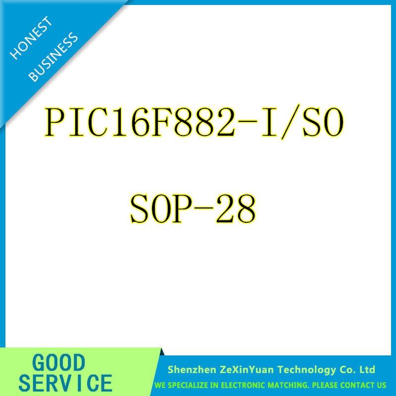 10PCS/LOT PIC16F882-I/SO PIC16F882 16F882 SOP28 NEW