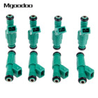 8Pc/set 0280155968 Fuel Injectors Kit 42lb EV1 For BMW Bosch Chevrolet Ford 440cc Car High Performance Fuel Injector Green Giant