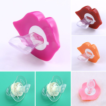 1PC Baby Pacifiers Safe Food Grade ABS Silicone Funny Baby Nipples Baby Infant Teeth Soothers Pacifiers 6 Styls FCI#