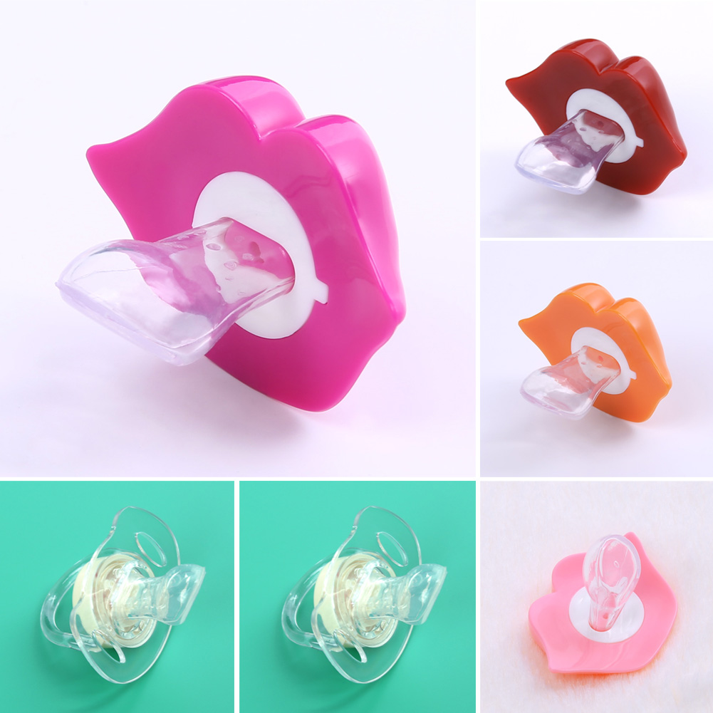 1PC font b Baby b font Pacifiers Safe Food Grade ABS Silicone Funny font b Baby