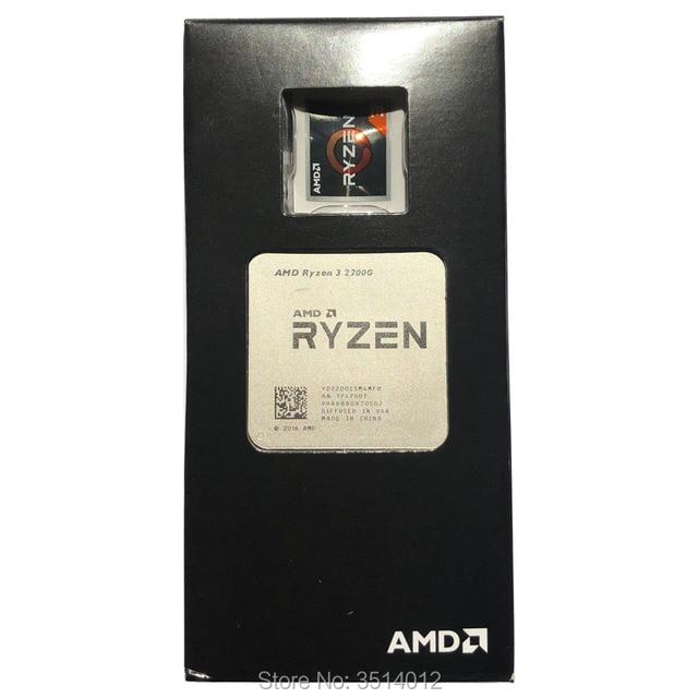 Amd Ryzen 3 2200g R3 2200g 3 5 Ghz Quad Core Cpu Processor 65w