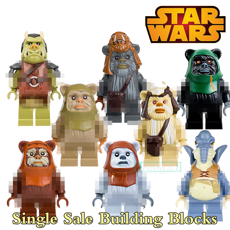 Building Blocks PG8067 Watto Ewok Attack Battle of Endor Super Heroes Star Wars Model Bricks Kids DIY Toys Hobbies Figures single building blocks kits ninja pythor kozu lloyd zane nya figures super heroes star wars model bricks kids toys hobbies x0143