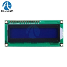 ЖК 1602 1602 Модуль синий экран синий черный свет 16x2 символ ЖК цифровой дисплей модуль HD44780 управление Лер управление
