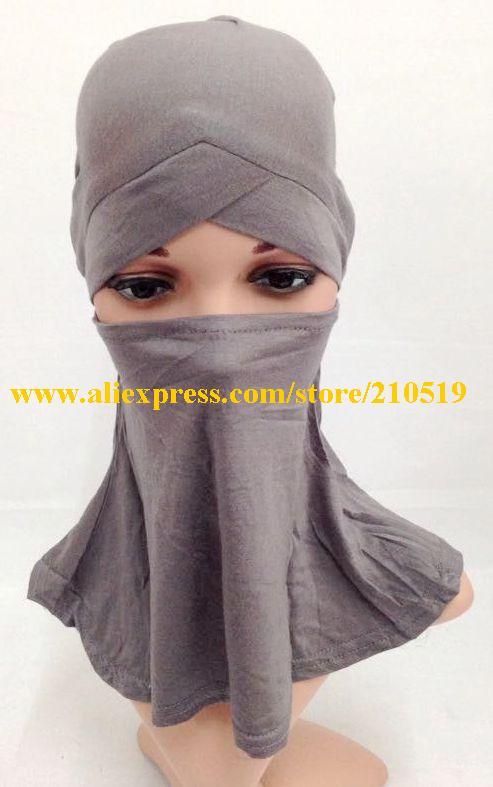 20 шт./пакет Новая удобная Кепка мусульманский платок кроссовер подхиджабник ниндзя