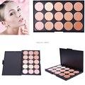 2014 nuevo Pro Salon Party Makeup 15 Color sombra de ojos paleta corrector contorno cara crema #57322