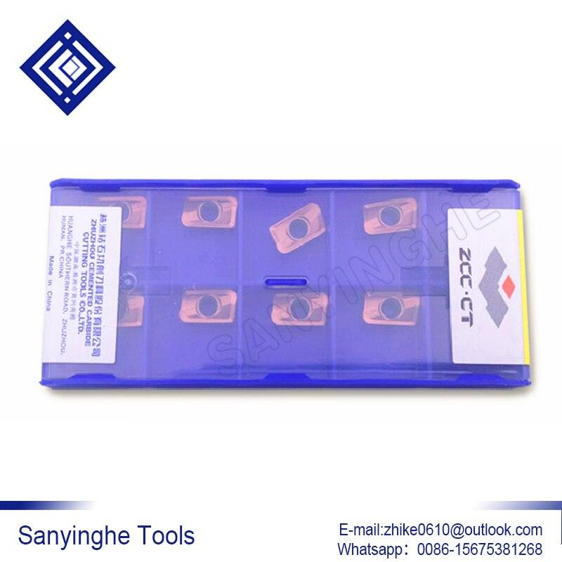 ZCC CT 40pcs YB9320 APKT11T304 APM APKT11T308 APM APKT11T312 APM APKT11T316 APM cnc carbide cutting tools