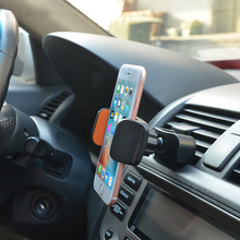 Mobile Phone Car CD Slot Holder For iPhone Samsung Cell Mount 360 Degree Air Vent Clip Smartphone Stand