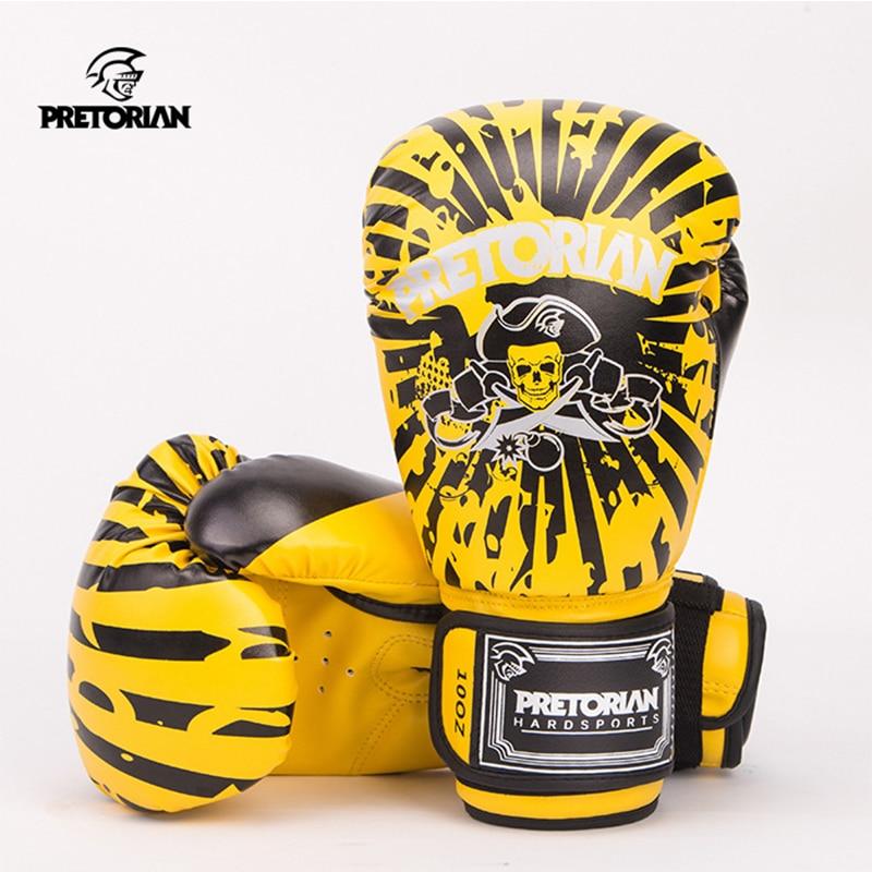 10OZ 12OZ Pretorian Boxningshandskar Muay Thai MMA Fitness Jujitsu - Sportkläder och accessoarer - Foto 2
