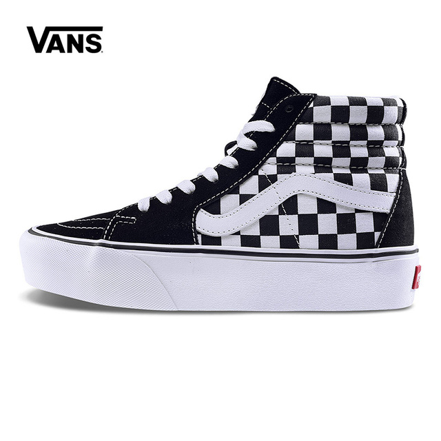 Original New Vans Women s Classic SK8-HI PLATFORM 2.0 Hight-top  Skateboarding Shoes Sneakers Canvas Comfortable VN0A3TKNQXH c2d44025b