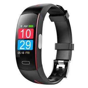 Image 2 - MHKBD PPG ЭКГ браслет артериального давления IP67 водонепроницаемый смарт Браслет спортивный шаг мониторинг сердечного ритма наручные часы KBD0020
