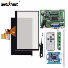 On sale For Raspberry Pi 3 LCD Display Capacitive Touch Screen Matrix TFT Monitor HDMI VGA AV FPV Input Driver Board Controller 800*600