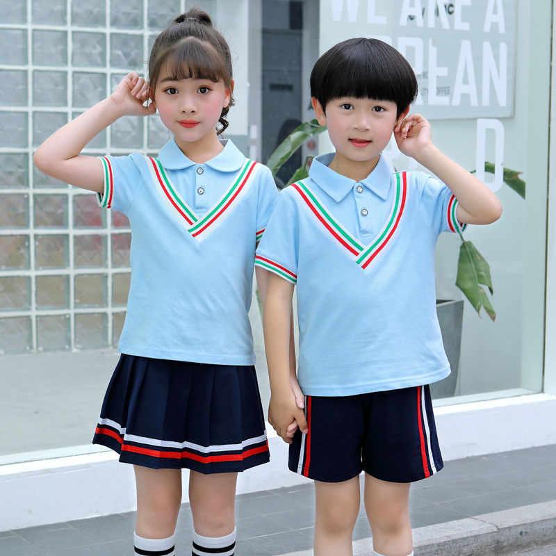 Children Shirt + Skirt Shorts Clothing Sets for Kids Sexy Japan High School  Uniform Teen Boys Girls Japanese High School Uniform|Clothing Sets| -  AliExpress