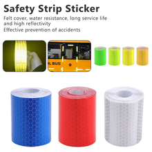 High Intensity Adhesive Reflective Tape Car Stickers Safety Strip Bicycle Accessories 5cm*1m 7-color