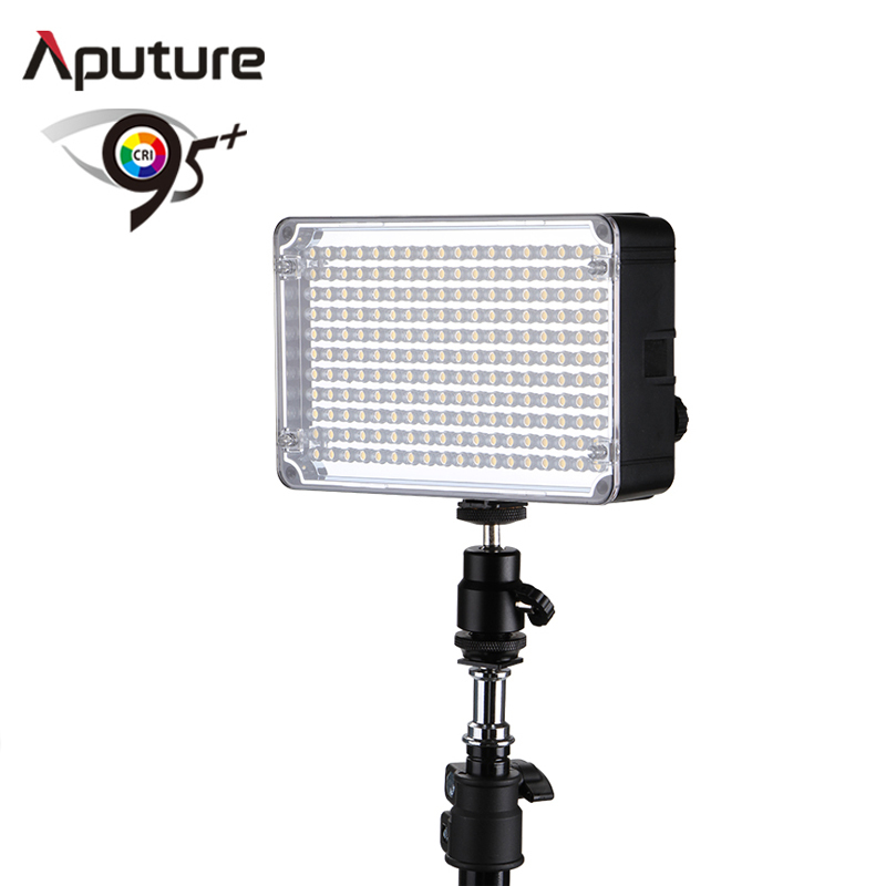ФОТО Aputure Amaran New AL-H198 High CRI 95+ Led Panel LED Video Light  AL-H198 for Canon Nikon Olympus Camcorder with carrying bag