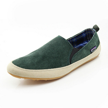 Hot ! Men canvas shoes 2016 new casual men's shoes to help low permeability of England to help low canvas shoes