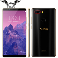 2017 New Original ZTE Nubia Z17S Mobile Phone With 4 Cameras 2040x1080 Full Screen 6 8GB