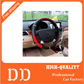Hot Sell Drangon Design Faux Leather Auto Car Steering Wheel Cover 38CM/15'' Anti-catch Holder Protector Free Shipping