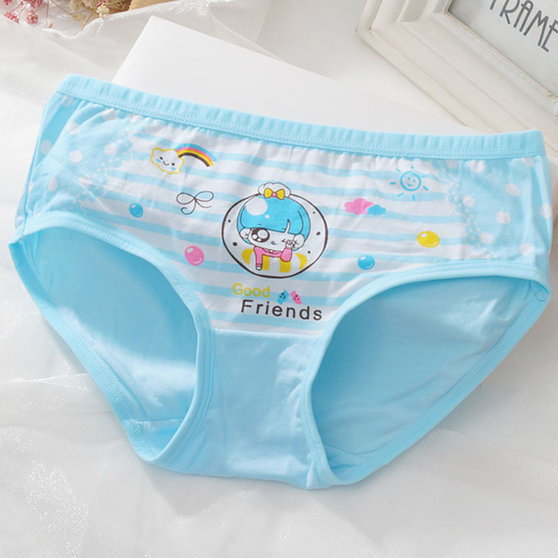 2pcs lot Baby Girls Cartoon Panties Underwear Calcinha Infantil Modal Kids  Panty Short Pants Children Briefs Comfy Underpants-in Panties from Mother    Kids ... 5c42f115554