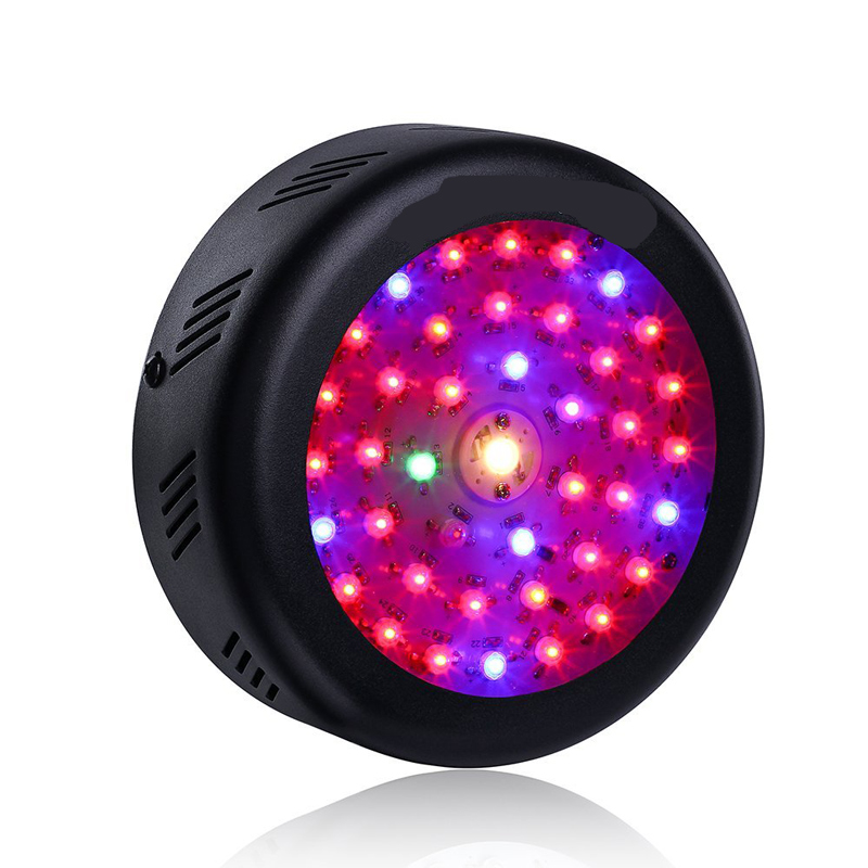 135W Plant Light UFO Full Spectrum LED Grow Light Epistar Chip For Hydroponics Greenhous ...