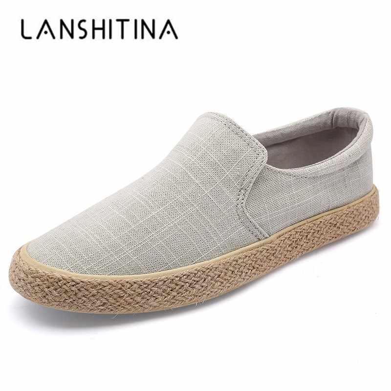 c35322c7ea8c7 2018 Venta caliente de los hombres zapatos de lona clásicos casuales  perezosos zapatos Slip-luz