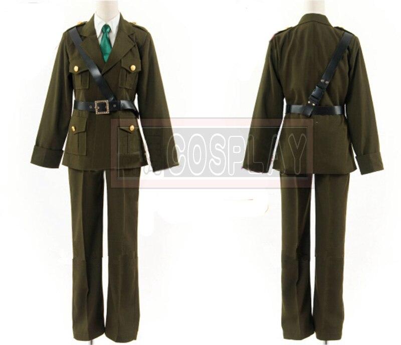 Unisex Anime Axis powers APH Hetalia England cosplay Costume Arthur Kirkland