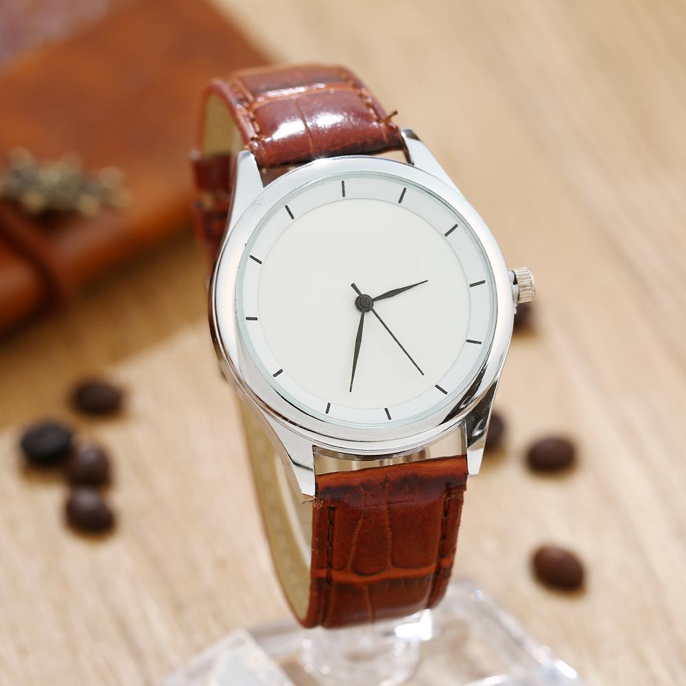 Gnova Platium Student Office Women Watch Lovers BIG Small Dials Pu Leather Wristwatch Analog Quartz Fashion Girl Geneva Style